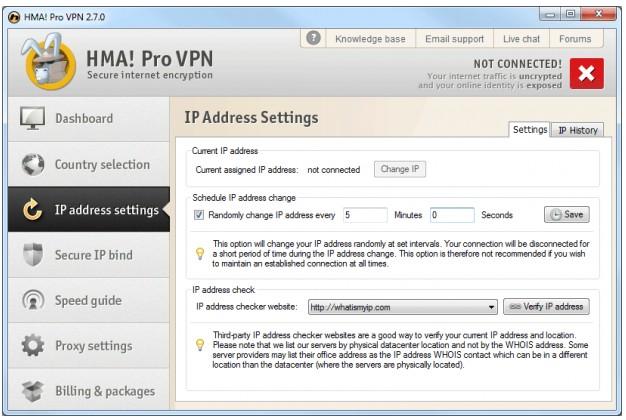 HideMyAss IP