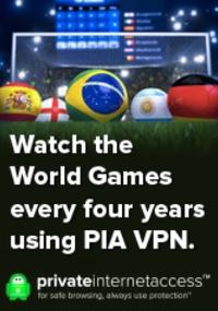 Private Internet Access VPN zur Fußball-WM