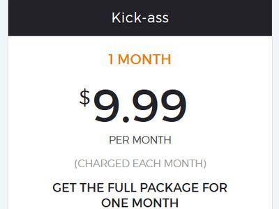 HideMyAss 1 Monat